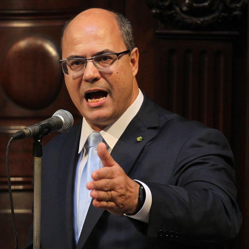 RJ: governador Wilson Witzel é alvo de buscas da Polícia Federal