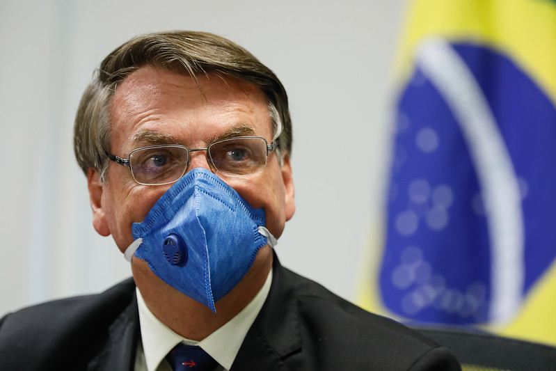 AGU diz à Justiça que Bolsonaro testou negativo para Covid-19