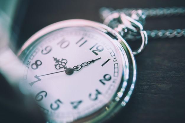 Gotas de Sabedoria: o tempo passa
