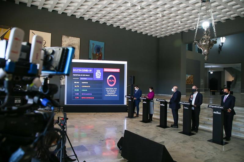 São Paulo apresenta protocolo de testagem em massa para setor privado