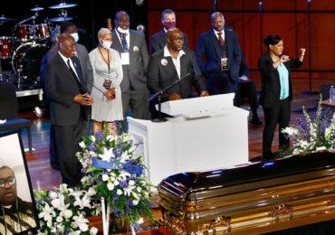 RFI: Velório aberto e homenagens marcam sepultamento de George Floyd
