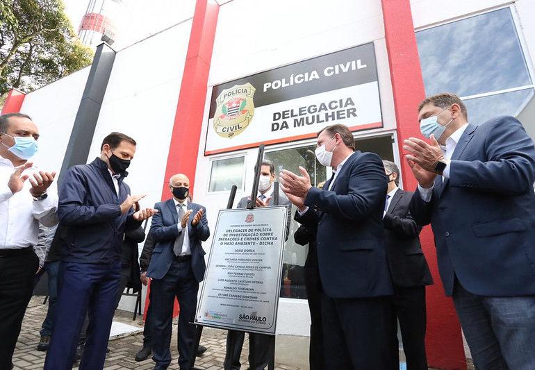 Delegacias de Polícia são inauguradas em São Bernardo