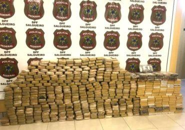 Combate às drogas tem números recordes de apreensões
