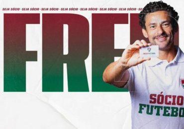 Atacante Fred se emociona em seu retorno ao Fluminense