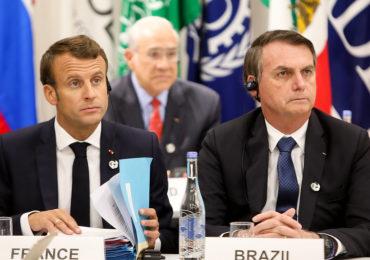 RFI: Briga entre Bolsonaro e Macron ainda abalam clima de negócios