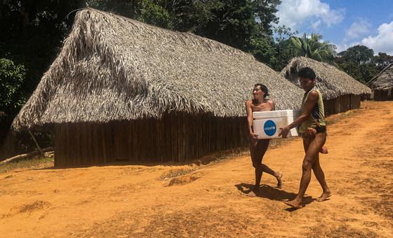 ONU pede mais apoio para o combate da Covid-19 na Amazônia