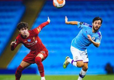 Manchester City carimba faixa do Liverpool com goleada