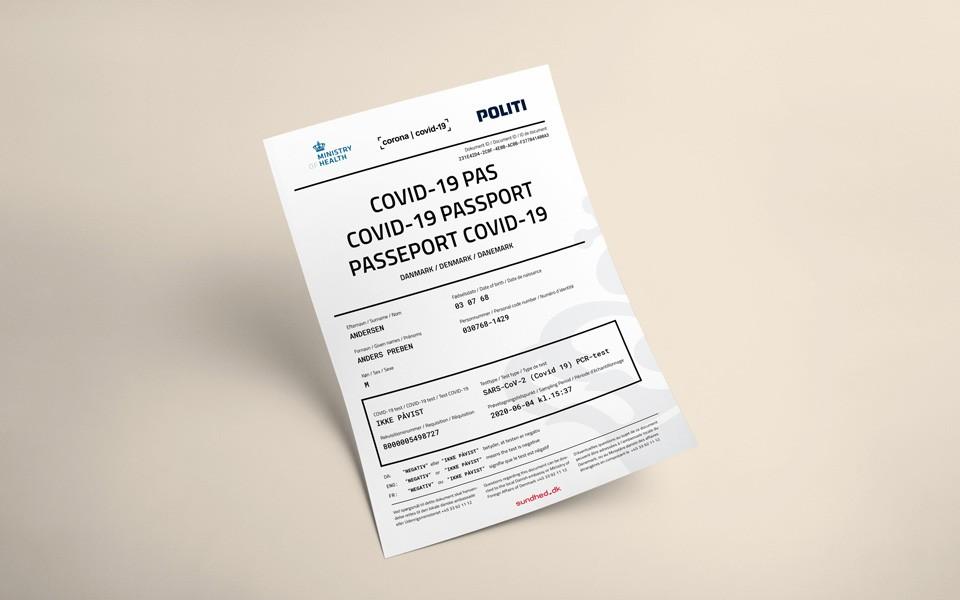 RFI: Dinamarca cria passaporte de Covid-19 negativo para população