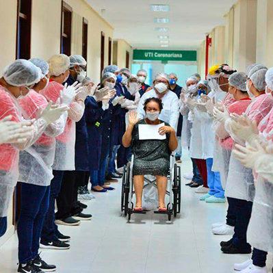 Mais de 4 milhões e 470 mil pessoas se recuperaram da Covid-19