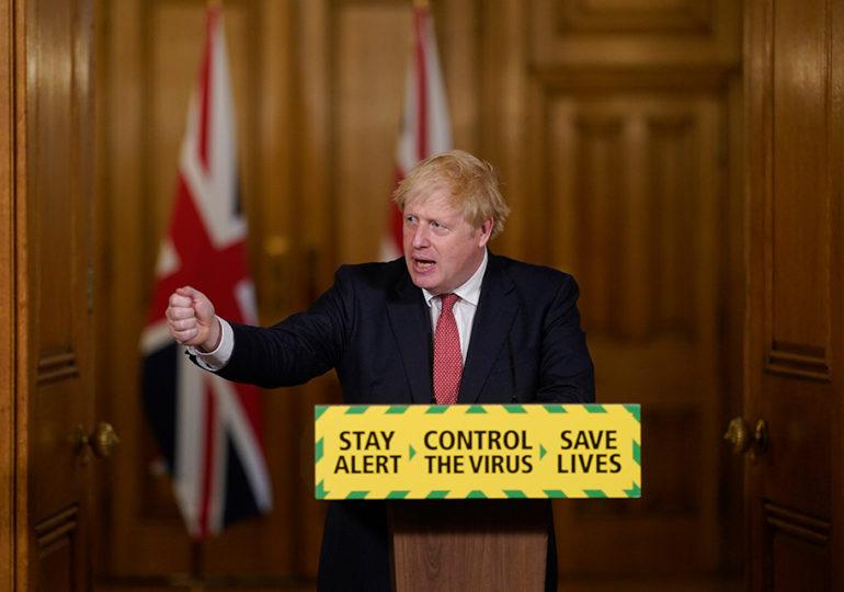 Governo britânico anuncia medidas de urgência contra a Covid-19