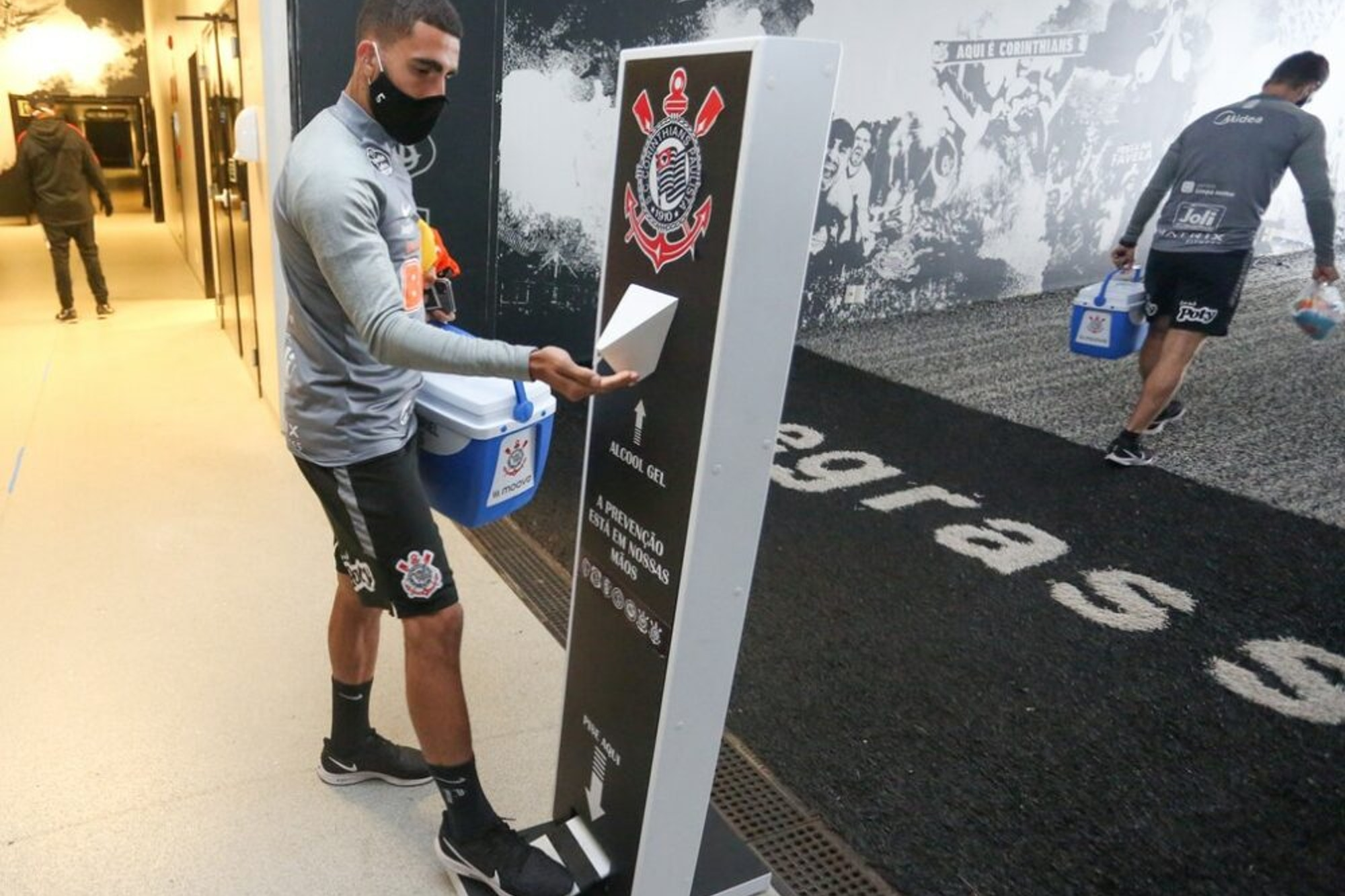 Corinthians lidera casos de jogadores com Covid-19 na Série A