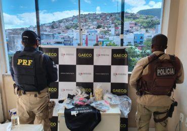 MP-BA e PRF desarticulam organização criminosa ligada ao tráfico