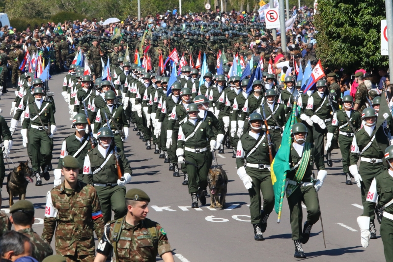 Covid-19: militares devem evitar desfiles da Independência