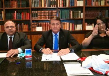 """Bolsonaro: """"tocar a vida"""" com quase 100 mil mortos"""