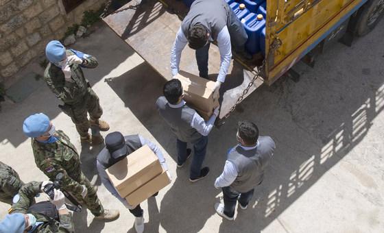 OMS envia voo humanitário ao Líbano com 20 toneladas de suprimentos