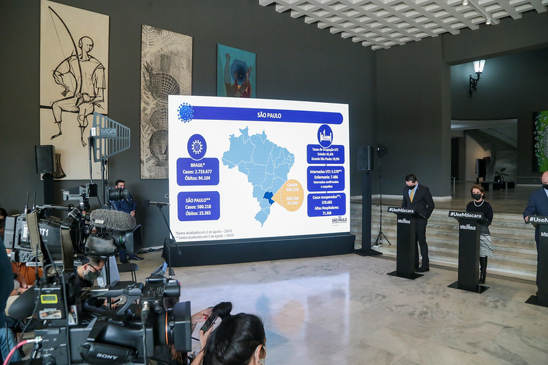 Mais de 450 cidades em SP já registraram óbitos pela Covid-19