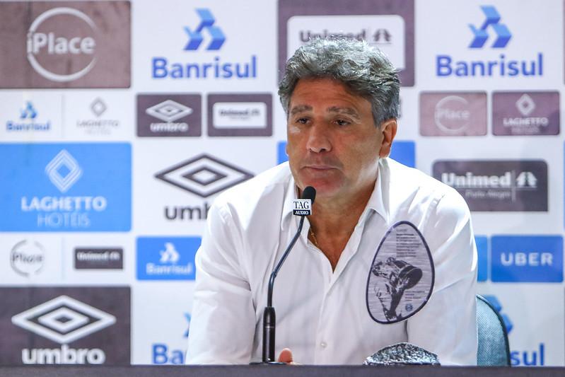 Grêmio: Renato Portaluppi testa positivo para Covid-19