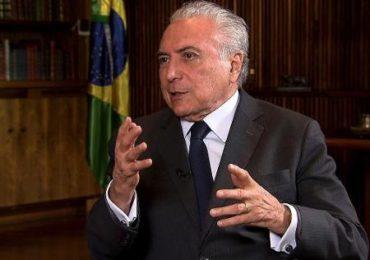 Bolsonaro convida Temer para chefiar ajuda humanitária ao Líbano