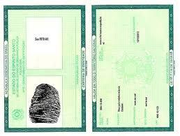 Carteira de identidade não tem prazo de validade