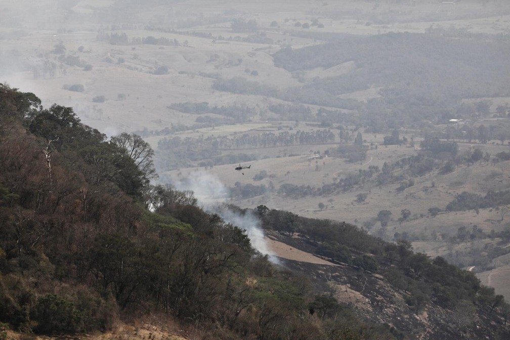 Doria envia reforço para combater fogo em São João da Boa Vista