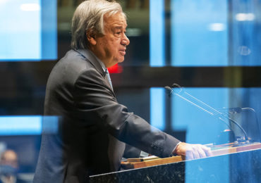 Guterres diz que mundo foi reprovado no teste de cooperação durante pandemia