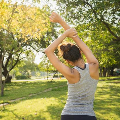 Alongamento aumenta flexibilidade e reduz tensões