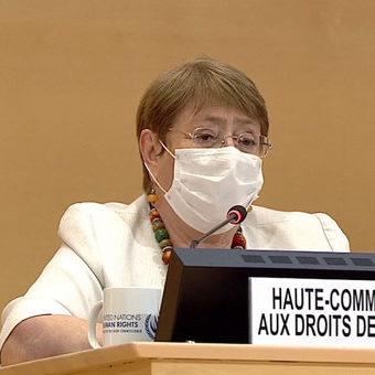 Bachelet cita Brasil em discurso sobre situação dos direitos humanos no mundo
