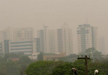Queimadas: poluição do ar em Cuiabá está 14 vezes acima do normal