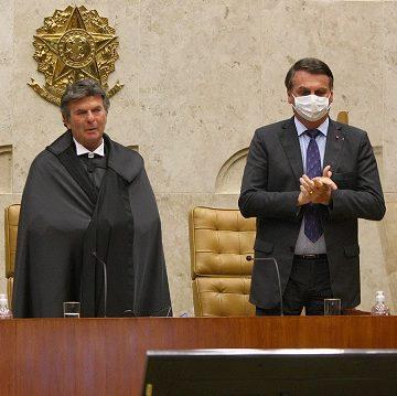 Luiz Fux toma posse como novo presidente do STF