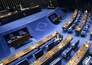 Senado fez primeiras sessões presenciais durante pandemia