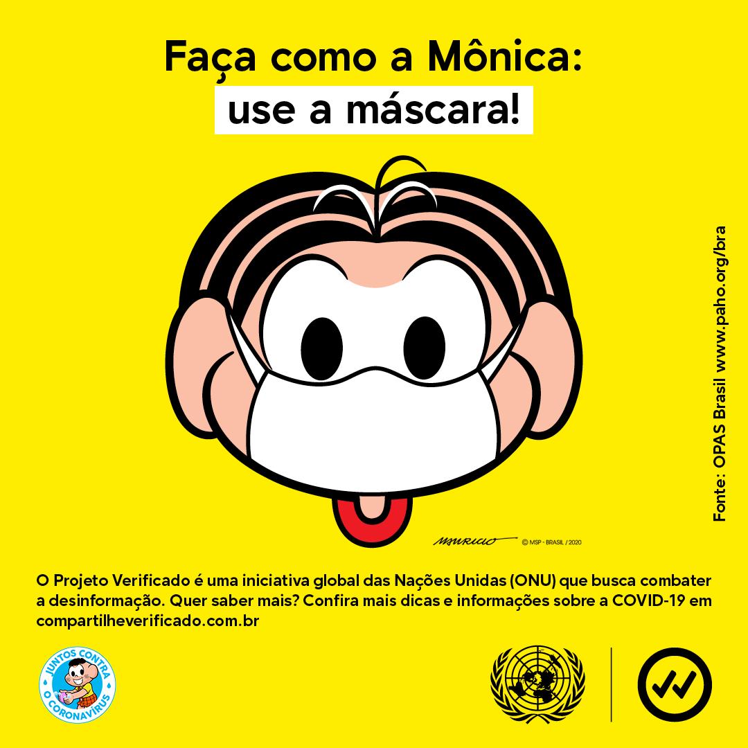 Turma da Mônica e ONU fecham parceria para combater desinformação