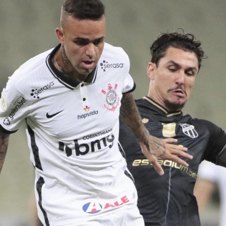 Corinthians perde para o Ceará e entra na zona de rebaixamento