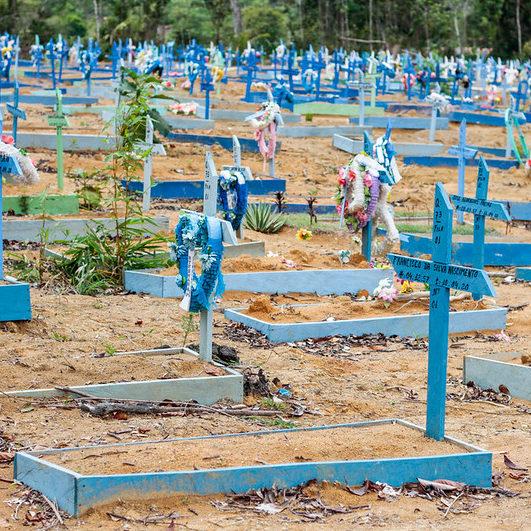 Brasil passa de 200 mil mortes por Covid-19