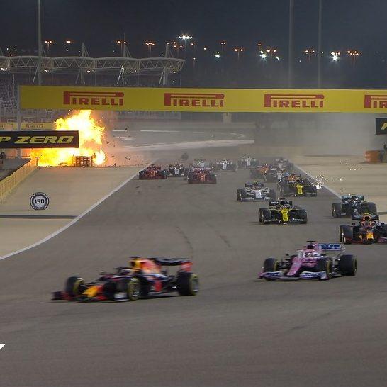 Acidente impressionante marca etapa do Bahrein na Fórmula 1