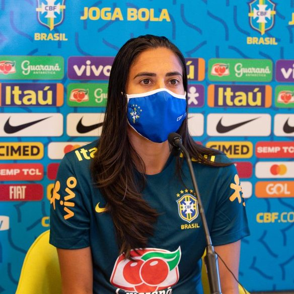 Brasil inicia treinamentos para jogos preparatórios em SP