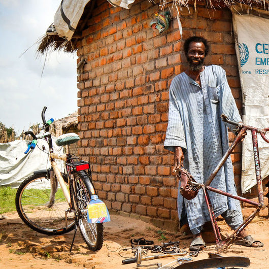 ONU e parceiros na África querem aumentar segurança para pedestres e ciclistas
