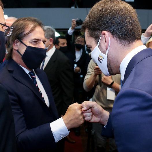 RS e Uruguai discutem ações conjuntas contra a Covid-19