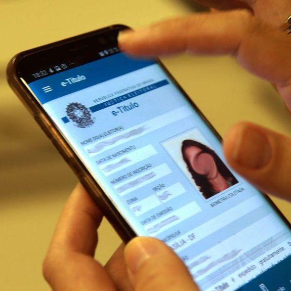 Mais de 500 mil eleitores justificaram a ausência pelo e-Titulo