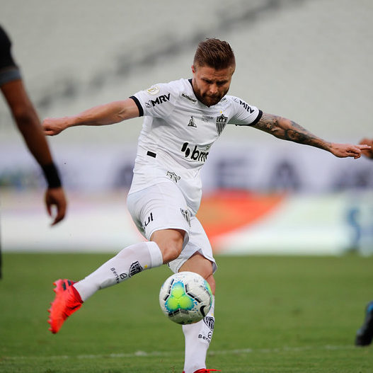Atlético-MG empata com o Ceará e permanece líder do Brasileirão