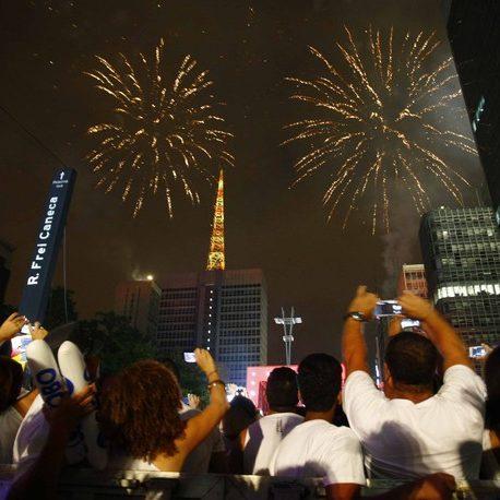 SP cancela tradicional queima de fogos na virada do ano