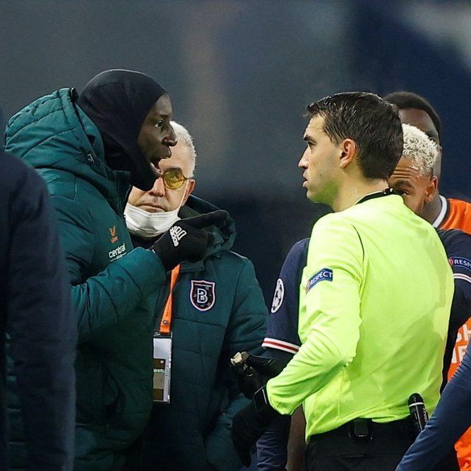 Champions League: PSG e Basaksehir deixam jogo após acusação de racismo
