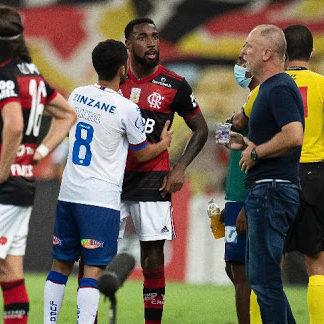 Ramírez se defende e nega ato racista contra Gerson do Flamengo
