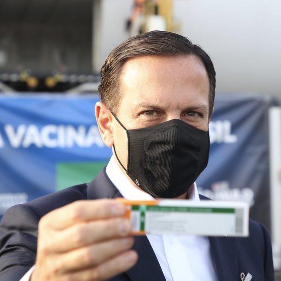 SP recebe insumos para produzir 1 milhão de doses da CoronaVac