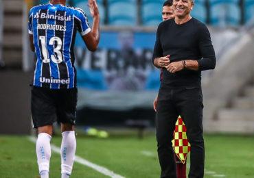 Grêmio vence o Guaraní e pega o Santos nas quartas
