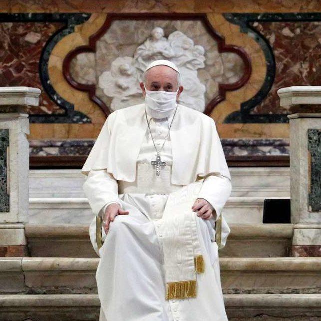 Papa Francisco inicia maratona de orações pelo fim da pandemia