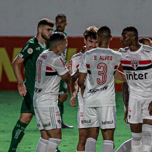Brasileirão: São Paulo bate o Goiás e é o novo líder do Campeonato Brasileiro