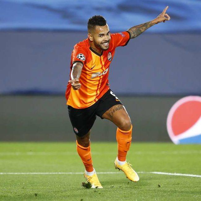 Shakhtar vence Real Madrid com gol do brasileiro Dentinho