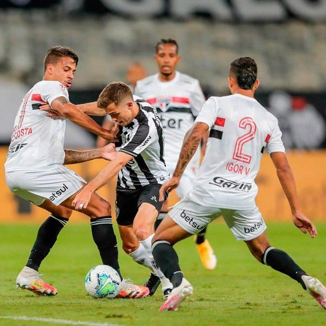 São Paulo e Atlético-MG fazem duelo de líderes no Morumbi