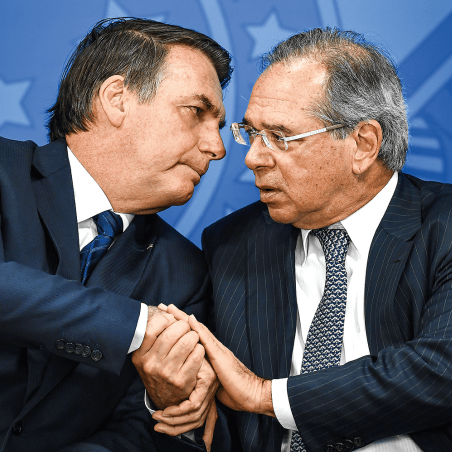 Bolsonaro e Guedes descartam novo auxílio e apostam na vacina