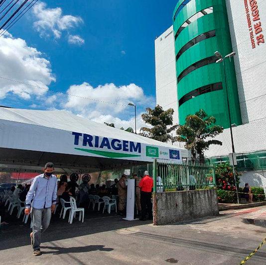 Manaus tem novo recorde de internações por Covid 19
